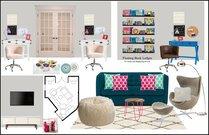 Modern & Fun Kids Playroom Rachel H. Moodboard 1 thumb
