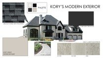 New Build Modern Home Design Amber K. Moodboard 1 thumb