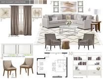Transform my Living Room Picharat A.  Moodboard 1 thumb