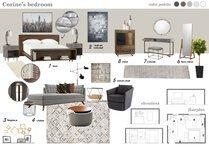 Contemporary Bedroom Transformation Marina S. Moodboard 1 thumb