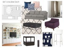 Global Contemporary Living Room Design Lynda N Moodboard 2 thumb