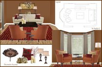 Rustic mediterranean with asian accents living and dining room Nadia G. Moodboard 1 thumb