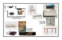 Elegant and modern living room Aldrin C. Moodboard 2 thumb
