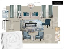 Beautiful Blues in Living Room Transformation Eleni P Moodboard 1 thumb