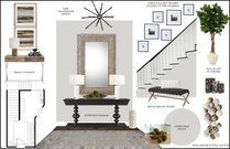 White Transitional Entry Way Rachel H. Moodboard 1 thumb