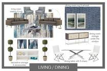 Modern Living Kitchen Transformation Brianna S. Moodboard 1 thumb