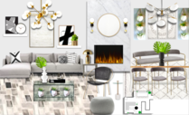 Contemporary Home Interior Michelle B.  Moodboard 2 thumb