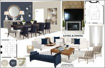 Bright and Sleek Living/Dining Rachel H. Moodboard 1 thumb