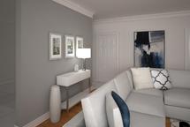 Online Designer Living Room 3D Model