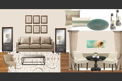 Living Room Designer Mood Board