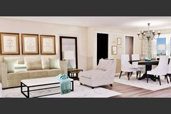 Online Living Room 3D Virtual Design
