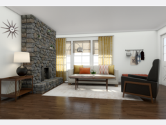 Modern Refresh for My Living Room  Rendering thumb