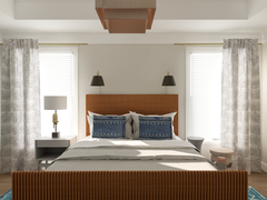 Craftsman Style Bedroom Rendering thumb