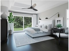 Modern Contemporary Master Bedroom Interior Design Rendering thumb