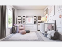 Contemporary Nursery Design  Rendering thumb