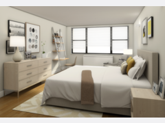 Simple to Modern Bedroom  Rendering thumb