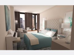 Relaxing Master Bedroom Rendering thumb
