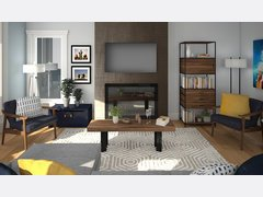 Cozy Living Room   Rendering thumb