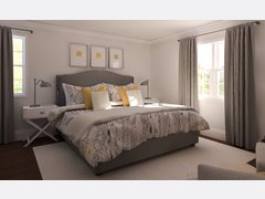 Elegant Master Bedroom Rendering thumb