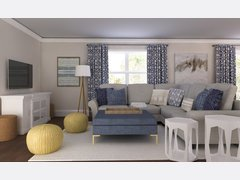 Emilys Navy Living/Dining Room Rendering thumb