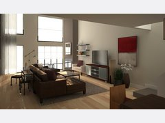 Baileys Organic Living/Dining Room Rendering thumb