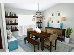 Beach Living room/Entry Rendering thumb