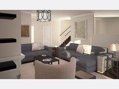 Annies New Build Transitional Home Rendering thumb