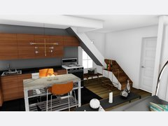 Heidis Trendy Living Space Rendering thumb