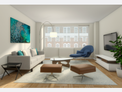 Relaxing Minimal Apartment  Rendering thumb