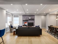 Transitional Living/Dining Interior Decor Moodboard thumb