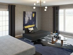 Modern Bedroom Transformation Rendering thumb