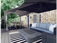 Modern patio Design Ideas Rendering thumb
