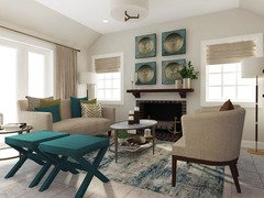 Transitional Style Home Ideas Rendering thumb