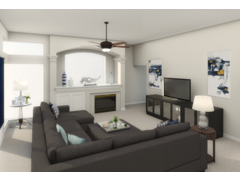 Modern Livingroom  Rendering thumb