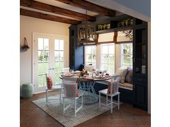 Transitional Style Breakfast Kitchen Nook Rendering thumb