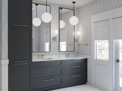 Contemporary Bathroom Remodel  Rendering thumb