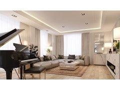 Classy Condo Apartment Design Rendering thumb