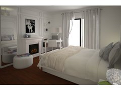 Chic Master Bedroom Rendering thumb