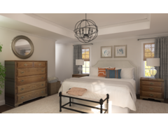 Cendys Modern Lodge Master Bedroom Rendering thumb