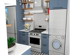 Bright, Airy Kitchen Rendering thumb