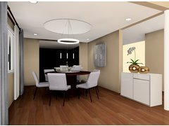 Bright and Comfortable Home Design Rendering thumb