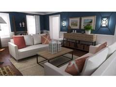 Steves Beach Style Living Room Rendering thumb