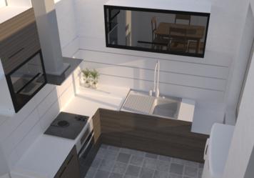 Online design Modern Kitchen by Chiara B. thumbnail