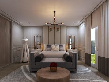 Online design Contemporary Bedroom by Hannah D. thumbnail
