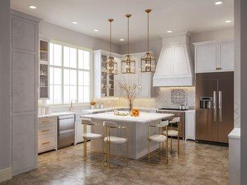 Online design Glamorous Kitchen by Sarah M. thumbnail
