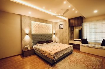 Online design Transitional Bedroom by Anup T. thumbnail