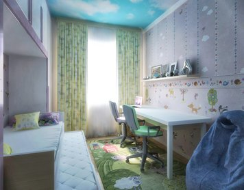 Online design Contemporary Kids Room by Rajna S. thumbnail