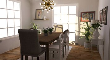 Online design Contemporary Dining Room by Deandra G. thumbnail
