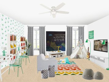 Online design Contemporary Kids Room by Amisha D. thumbnail