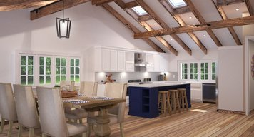 Online design Country/Cottage Kitchen by Hannah C. thumbnail
